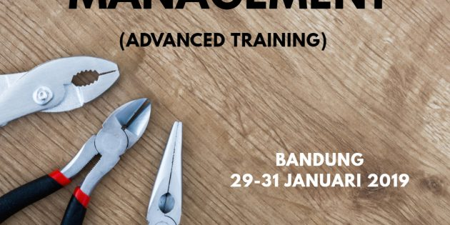 MAINTENANCE MANAGEMENT ADVANCED – Almost Running