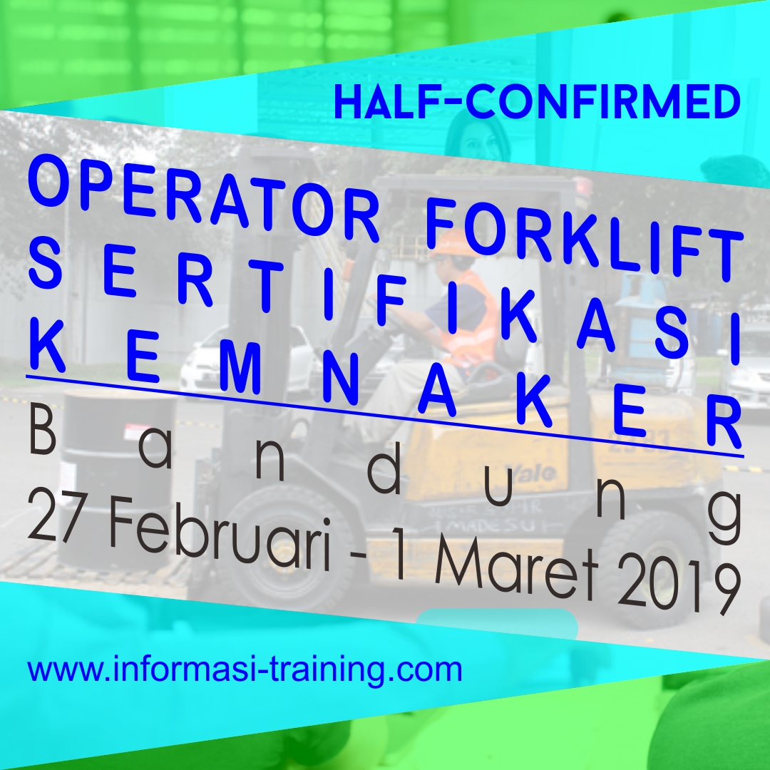 Pelatihan Forklift